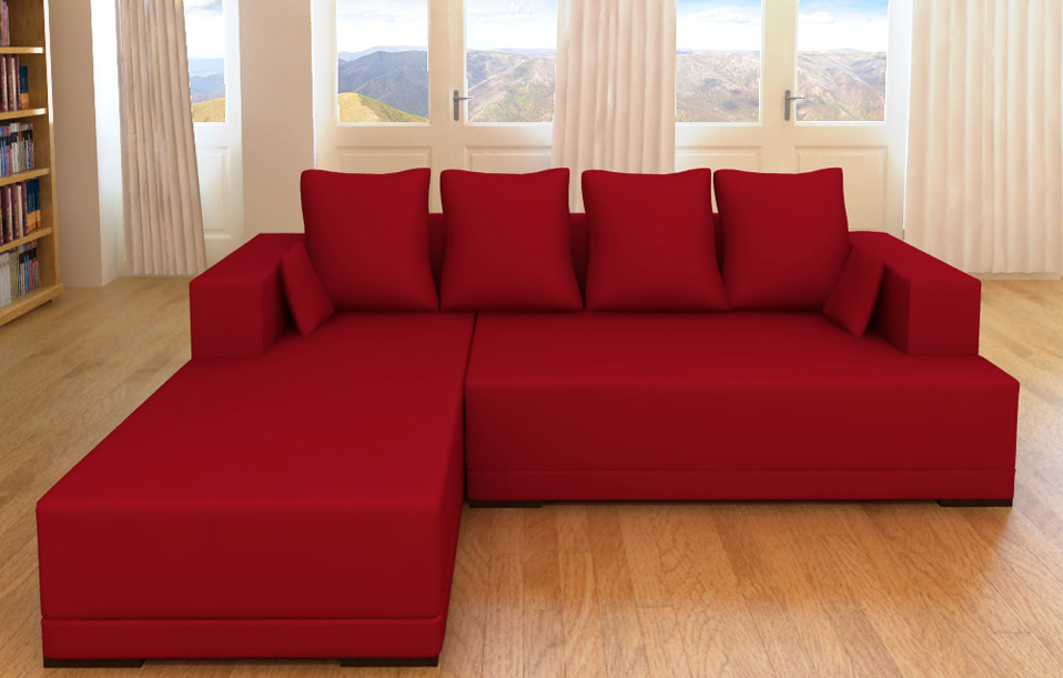 modell carmen alcantara look funktions sofa 3er couch longchair 6 kissen neu ebay. Black Bedroom Furniture Sets. Home Design Ideas
