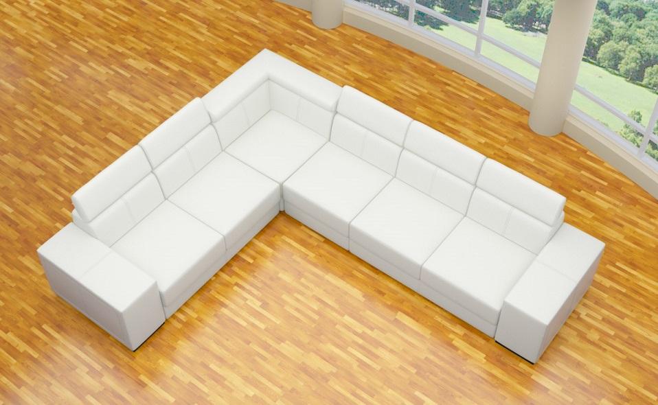 happy alcantara look designer sofa ecke wohnlandschaft 3 luxusteile neuheit ebay. Black Bedroom Furniture Sets. Home Design Ideas