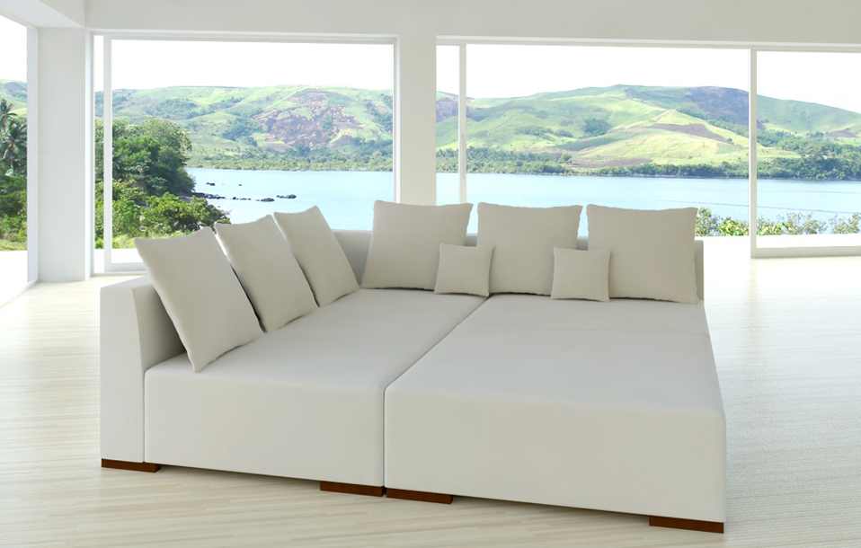 magnum alcantara look a1 design mega wohnlandschaft sofa garnitur neuheit ebay. Black Bedroom Furniture Sets. Home Design Ideas