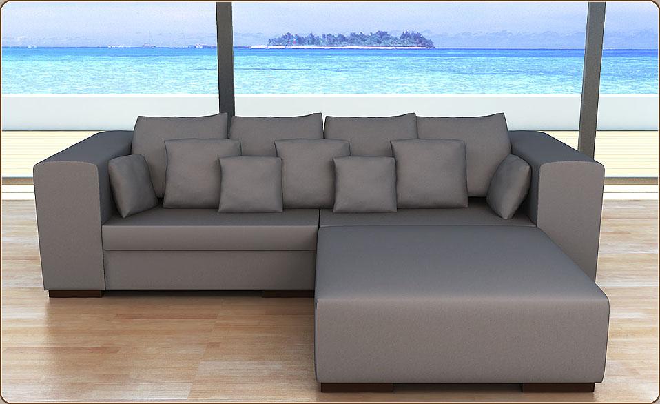 modell pamela alcantara l design lounge sofa couch hocker kissen farbwahl ebay. Black Bedroom Furniture Sets. Home Design Ideas