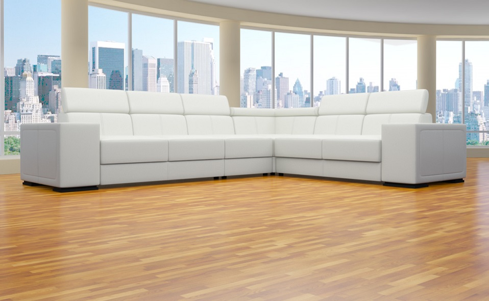Xxl 4 teile ecke sofa l form polstergarnitur for Wohnlandschaft aktion