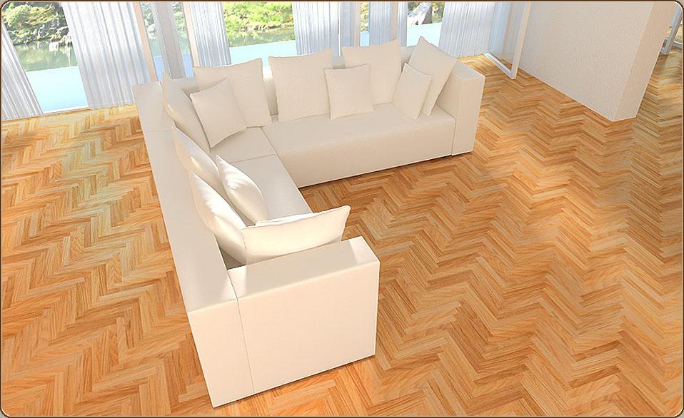 xxx designer modulares sofa couch wohnlandschaft 3 3 1 ecke alcantara look ebay. Black Bedroom Furniture Sets. Home Design Ideas
